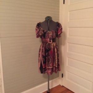 ABS Allen Schwartz Silk Long Tunic Top/Dress